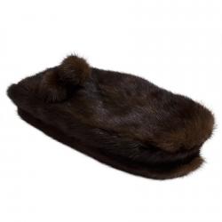 Варежки из меха норки А4202