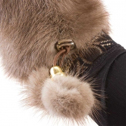Варежки из норки А4168