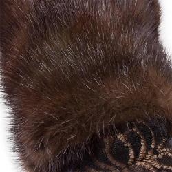 Варежки из норки А4275