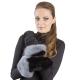 Женские рукавицы из овчины А4262